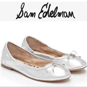 Sam Edelman Felicia Ballet Flats Silver